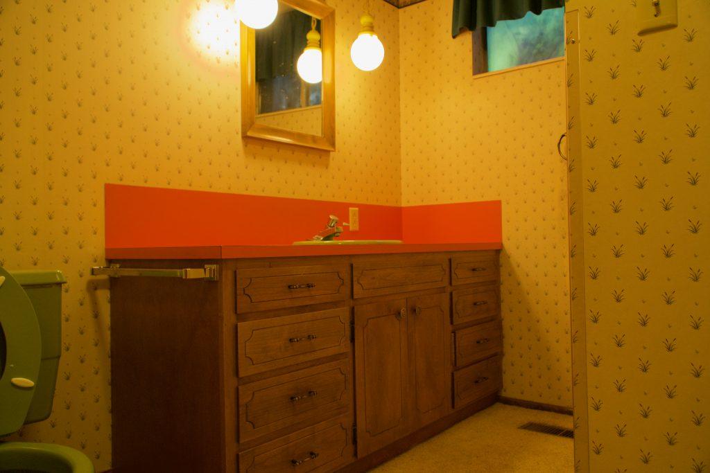 This Christmas we decided to do our quick fix bathroom renovation.