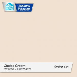 Choice Cream - Sherwin-Williams - top colors 2019
