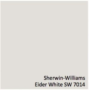 Eider White - Sherwin-Williams - top colors 2019