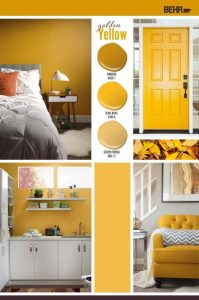 Bright Yellows - Behr Paint - Top colors 2019