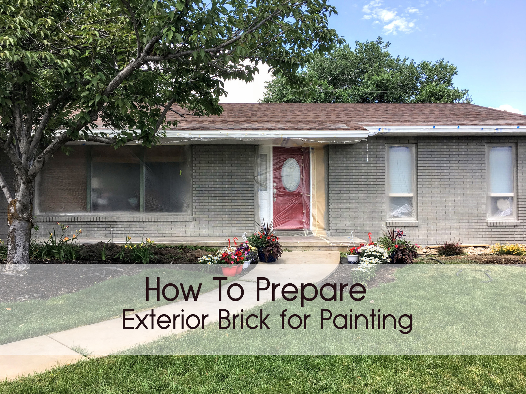 How to Prepare Exterior Brick for Painting 1