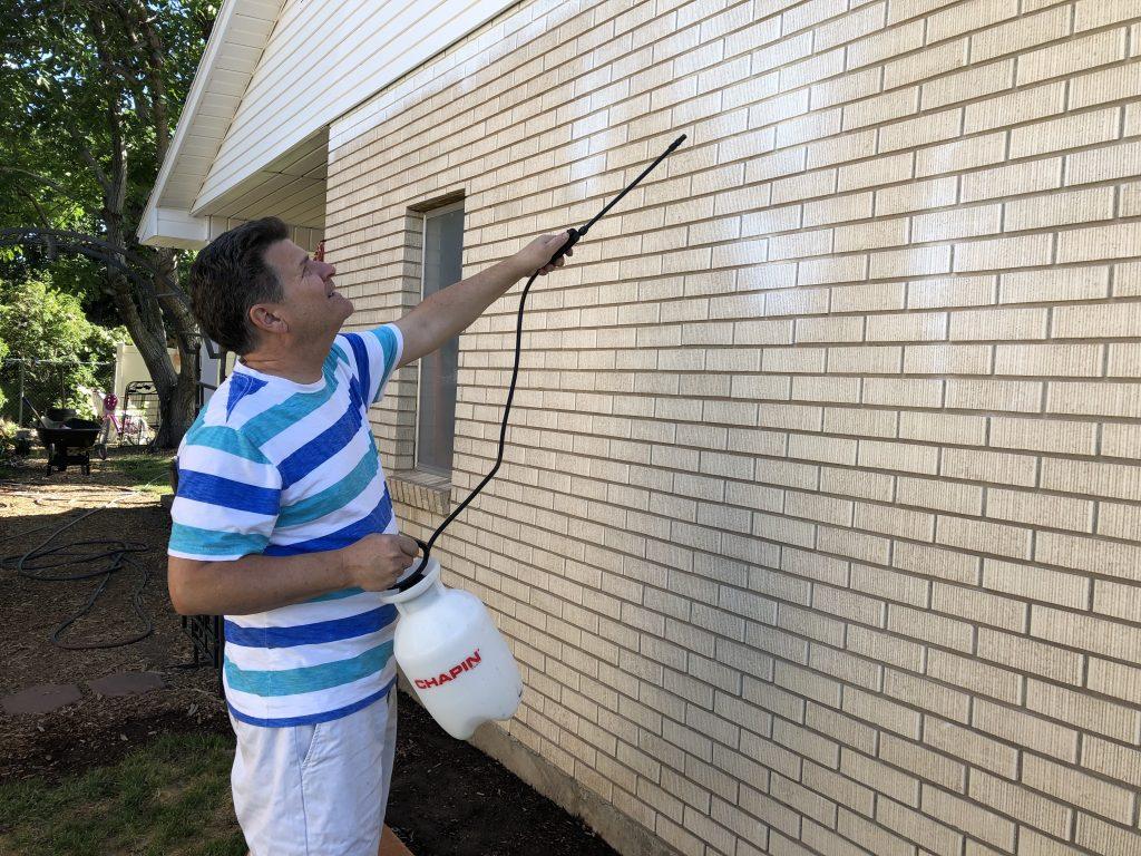 Prepare Exterior Brick for Painting