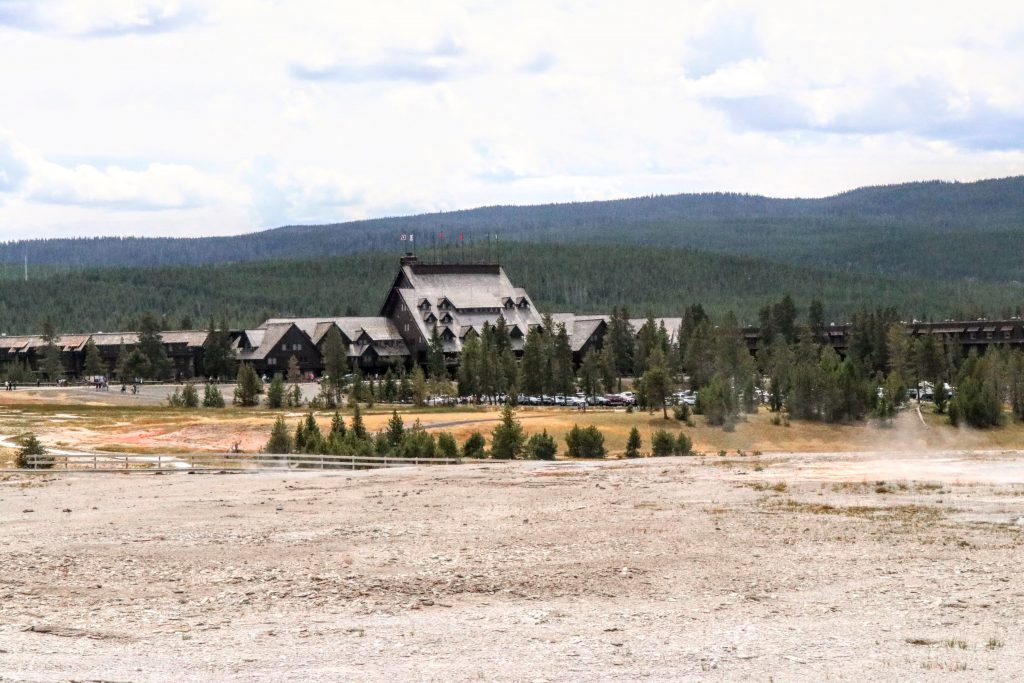 Rustic Mountain Architecture at Yellowstone National Park