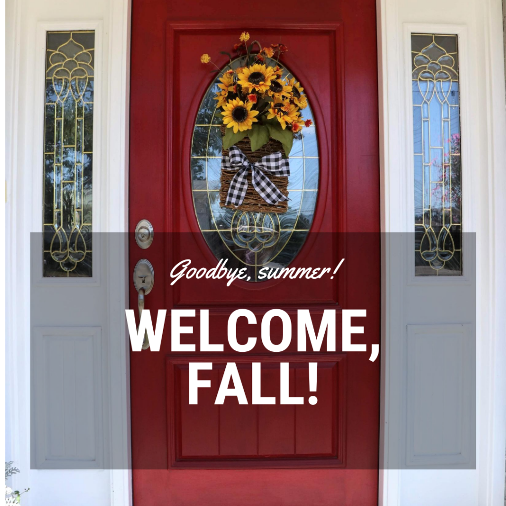 Welcome in Fall with this Quick DIY Fall Wreath Hanging Basket Tutorial.