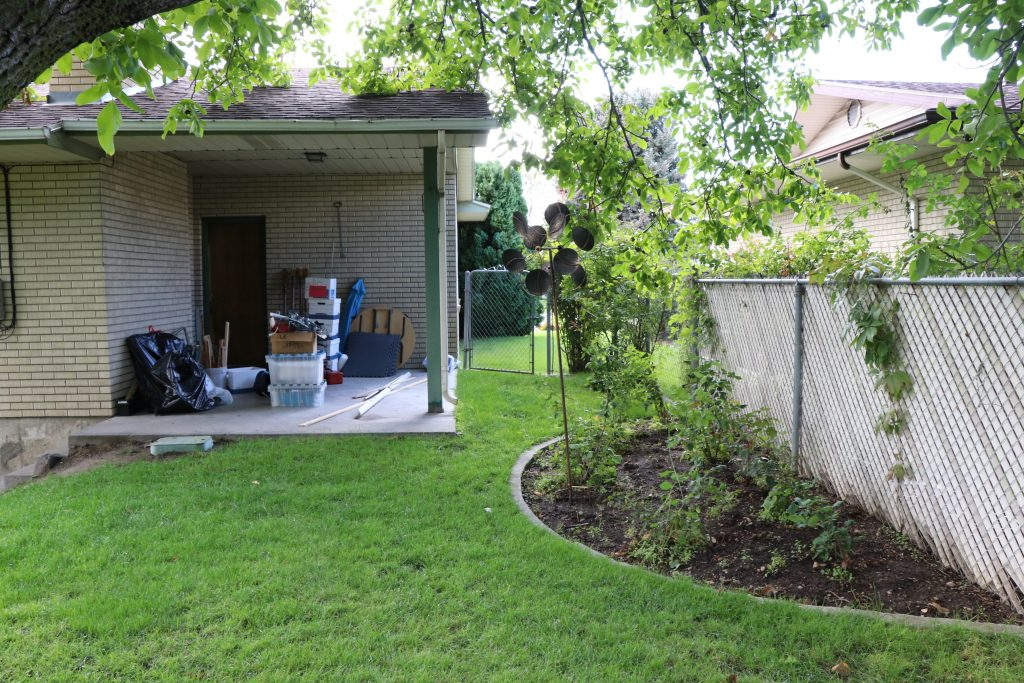 Our garden before and after the 30 year remodel