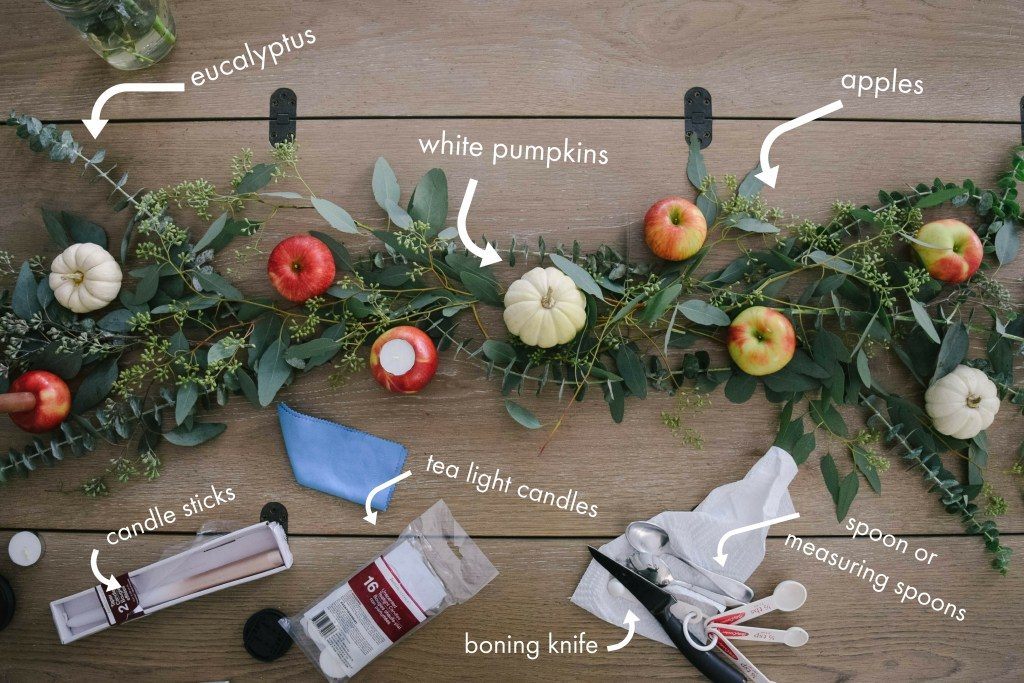 The Apple Thanksgiving Tablescape