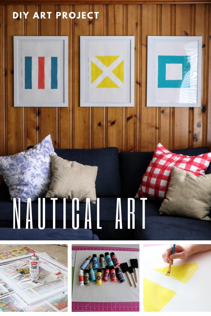 Nautical Art Wall Project