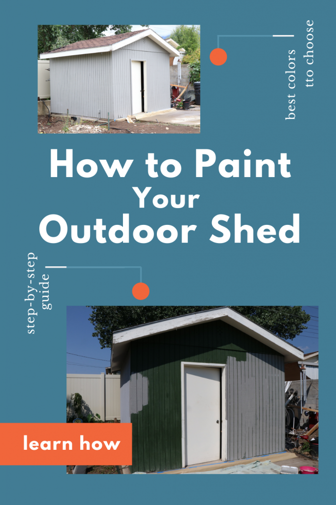 A Step-by-Step Guide for How To Paint Your Outdoor Shed