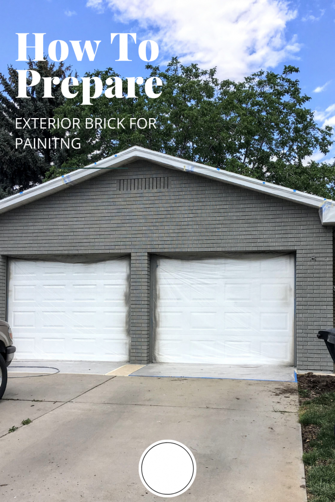 How to prep your house for exterior paint.