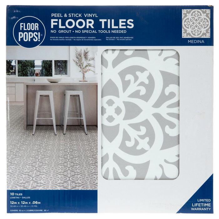 Floor Pops - Peel and Stick Floor Tiles
