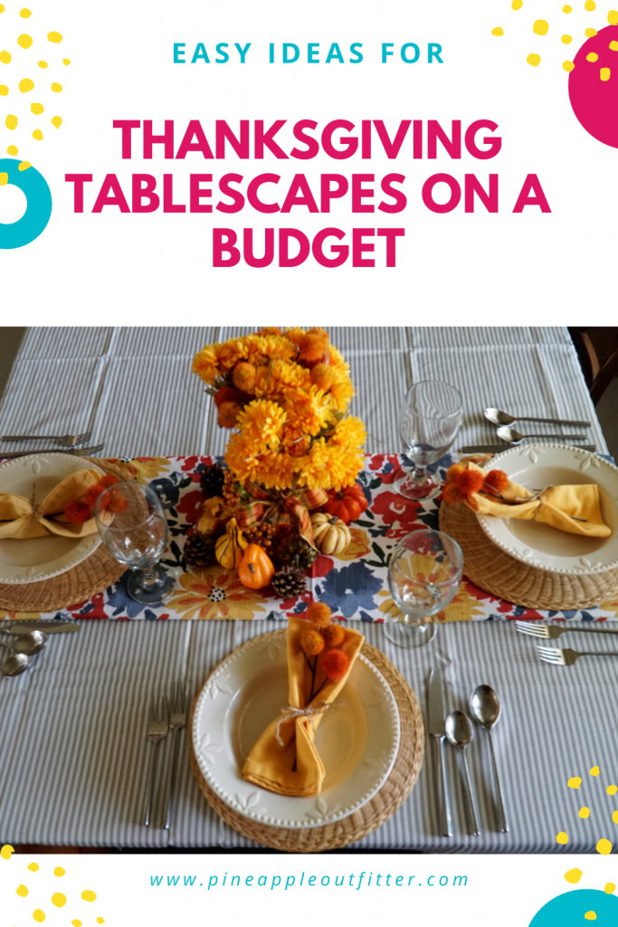 Easy Fall Tablescapes