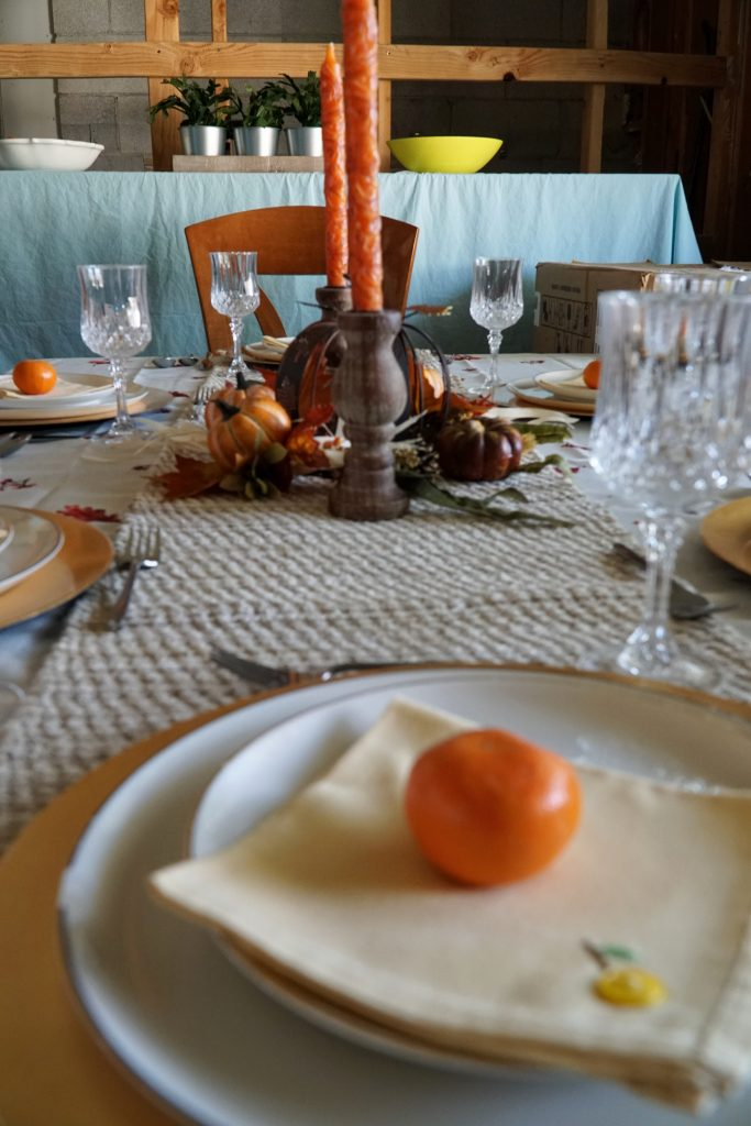 Fomal Thanksgiving Tablescape on a Budget