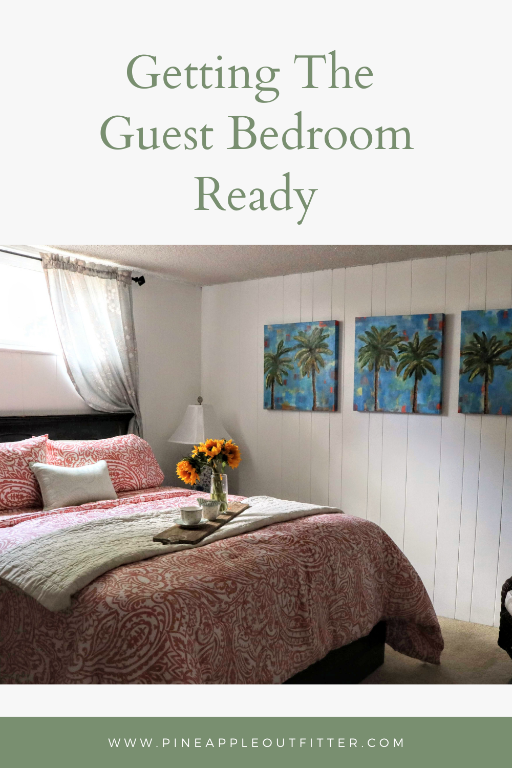 Getting the Guest Bedroom Ready